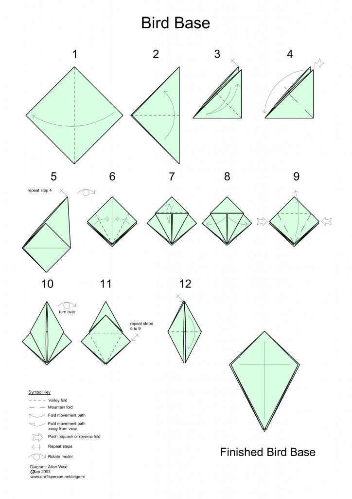 Classic crane, origami - OrigamiArt.Us | 1024x724