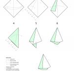 Sailing Boat: Origami Sailing Boat Instructions | 150x150