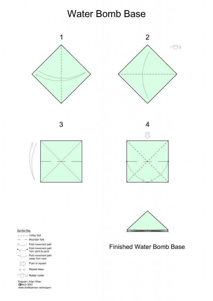 Waterbomb Base Corrugation (plane) | Carlos Luna | Flickr | 1024x724